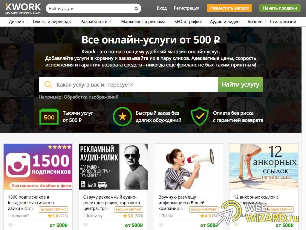 Фриланс kwork работа в россии удаленно бухгалтером